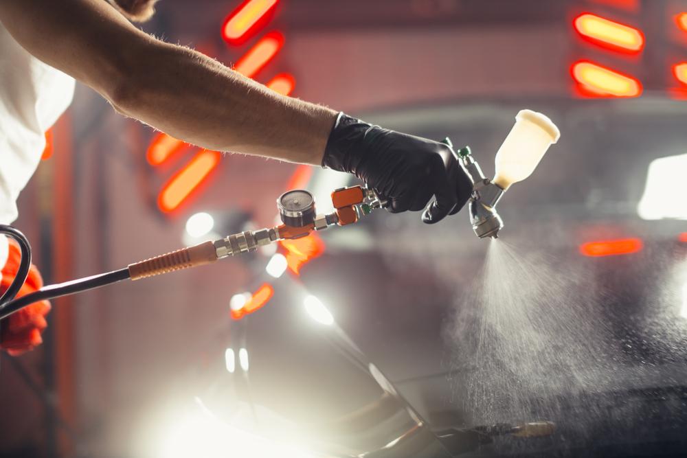 Réparation et peinture de carrosserie